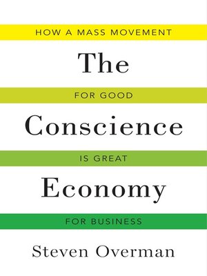 cover image of The Conscience Economy