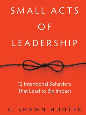 cover image of Small Acts Leadership