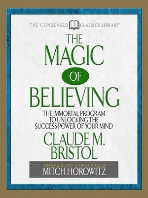 cover image of The Magic of Believing