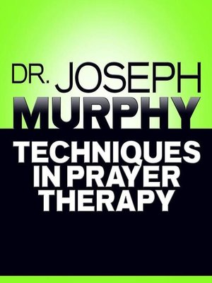 cover image of Techniques in Prayer Therapy