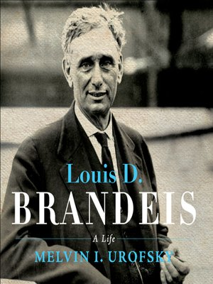 cover image of Louis D. Brandeis