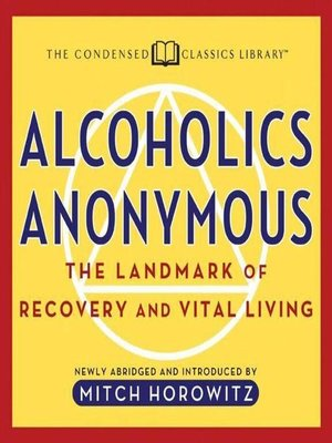 cover image of Alcoholics Anonymous