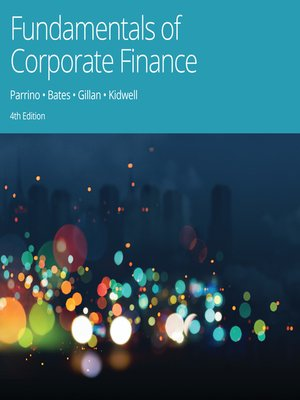 cover image of Fundamentals of Corporate Finance