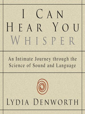 cover image of I Can Hear You Whisper