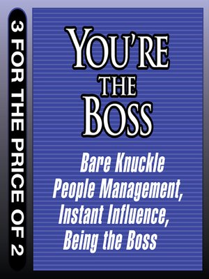 cover image of You're the Boss