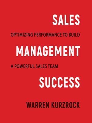 cover image of Sales Management Success