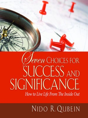 cover image of Seven Choices for Success and Significance