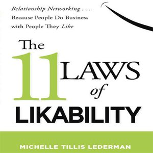 cover image of The 11 Laws Likability