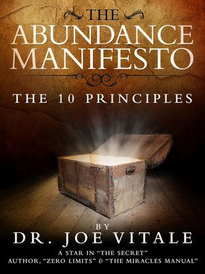 cover image of The Abundance Manifesto