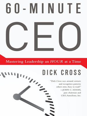cover image of 60-Minute CEO