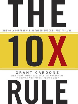 cover image of The TenX Rule