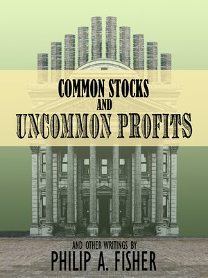 cover image of Common Stocks and Uncommon Profits and Other Writings
