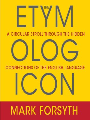 cover image of The Etymologicon