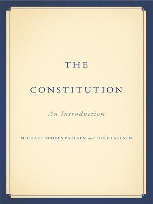 cover image of The Constitution