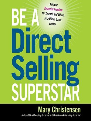 cover image of Be a Direct Selling Superstar