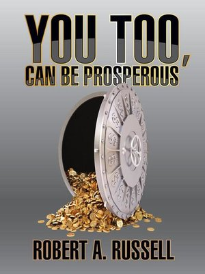 cover image of You Too, Can Be Prosperous