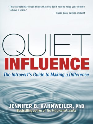 cover image of Quiet Influence