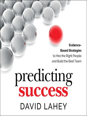 cover image of Predicting Success