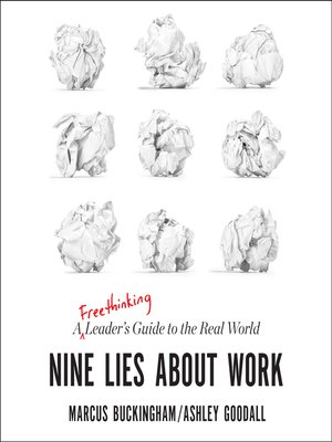 cover image of Nine Lies about Work