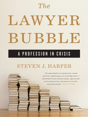 cover image of The Lawyer Bubble