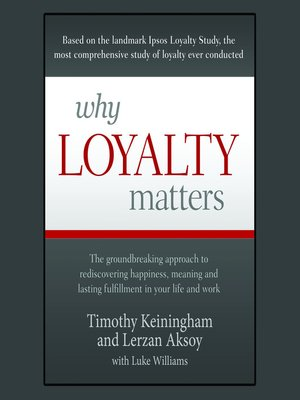 cover image of Why Loyalty Matters
