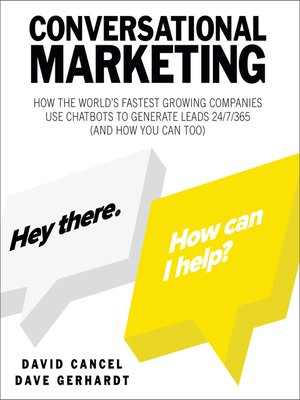 cover image of Conversational Marketing