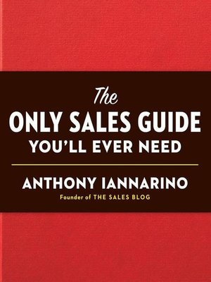 cover image of The Only Sales Guide You'll Ever Need