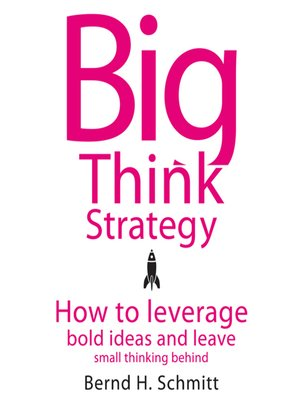 cover image of Big Think Strategy
