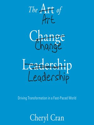 cover image of The Art of Change Leadership