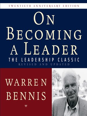 cover image of On Becoming a Leader