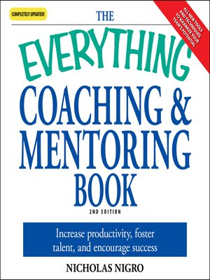 cover image of The Everything Coaching and Mentoring Book