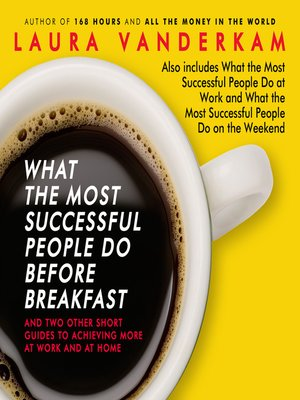 Resultado de imagem para What the Most Successful People do Before Breakfast
