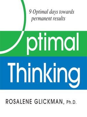 cover image of Optimal Thinking
