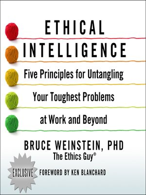 cover image of Ethical Intelligence