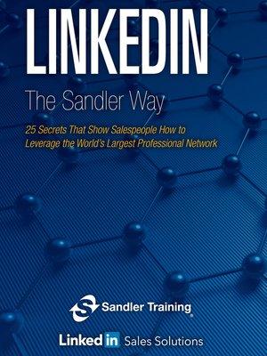 cover image of Linkedin the Sandler Way