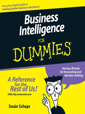 cover image of Business Intelligence For Dummies