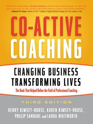 cover image of Co-Active Coaching