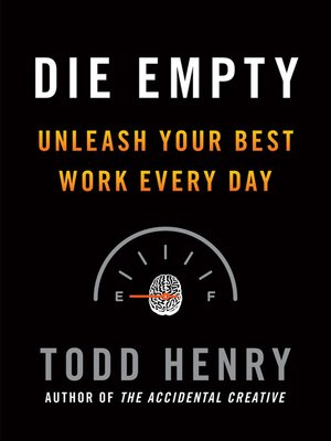 cover image of Die Empty