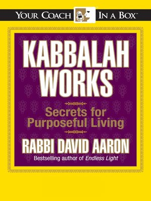 cover image of Kabbalah Works