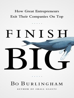 cover image of Finish Big