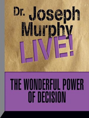 cover image of The Wonderful Power Decision