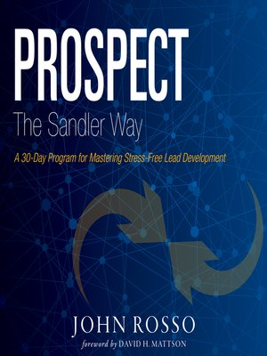 cover image of Prospect the Sandler Way