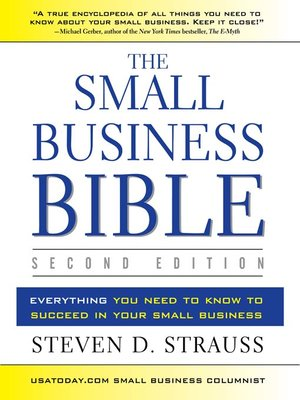 cover image of The Small Business Bible, 2E