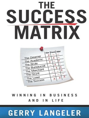 cover image of The Success Matrix