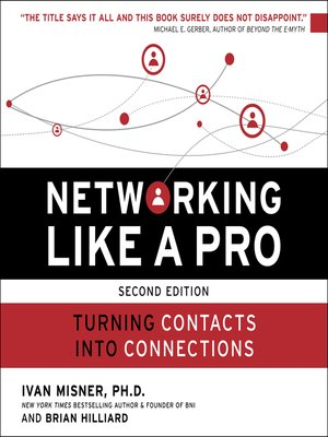 cover image of Networking Like a Pro