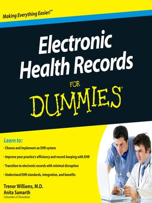 cover image of Electronic Health Records for Dummies