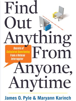 cover image of Find Out Anything from Anyone, Anytime