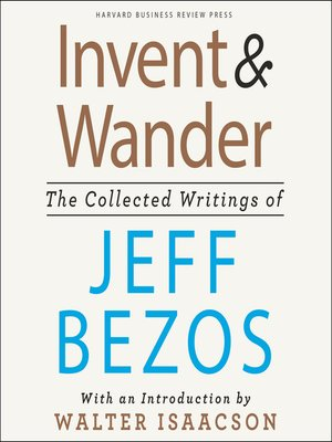 cover image of Invent and Wander