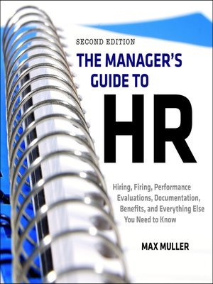 cover image of The Manager's Guide to HR