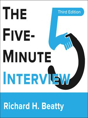 cover image of The Five-Minute Interview